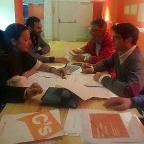 La agrupación del Andévalo completa el subcomité provincial de Ciudadanos en Huelva