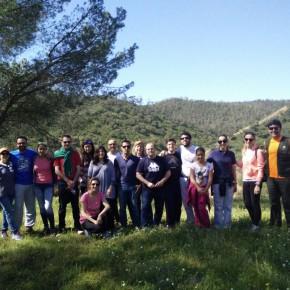 Ciudadanos organiza una ruta por la vía verde del río Tinto