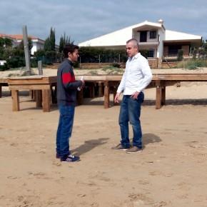 """Cs Punta Umbría reclama al Gobierno mayor celeridad en el arreglo de la playa de El Portil pues """"hemos perdido el puente del 28F"""""""