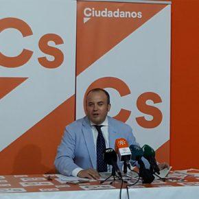 """Julio Díaz: """"Cs ha logrado la certificación de la muerte del impuesto de sucesiones en Andalucía"""""""