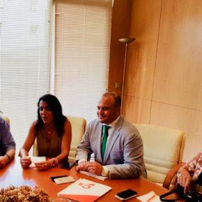 Cs traslada a los abogados y procuradores de Huelva el aumento de las partidas exigidas para el presupuesto 2018 en materia de Justicia