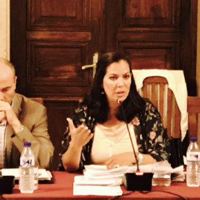 """María Martín (Cs): """"Salvamos al Recre pero no a cualquier precio ni sin garantías"""""""