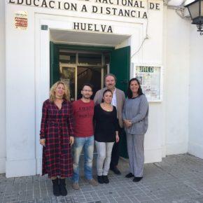 Un nuevo espacio para la UNED de Huelva, en la agenda de Ciudadanos
