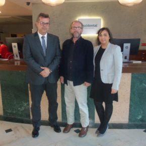 Reunión de la agrupación de Ciudadanos Isla Cristina con Hotel Occidental Isla Cristina