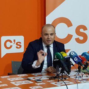 """Julio Díaz (Cs) afirma que la """"estabilidad política"""" aportada por Ciudadanos es """"sinónimo de crecimiento y creación de empleo"""""""