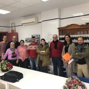 """Ciudadanos (Cs) censura la """"dejadez municipal"""" en Los Rosales y alerta del problema que suponen las inundaciones para el barrio"""