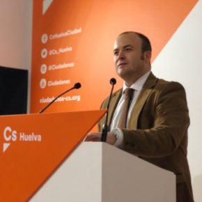 """Ciudadanos (Cs) eleva al Parlamento una PNL de """"apoyo, impulso y fortalecimiento del crecimiento"""" del Puerto de Huelva"""