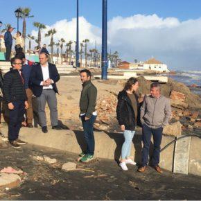 Ciudadanos (Cs) pide al Gobierno conocer los plazos de los trabajos de reparación de las playas de Huelva tras el temporal
