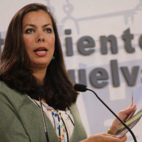 """María Martín (Cs): """"La entrada de Huelva por tráfico pesado es una vergüenza"""""""