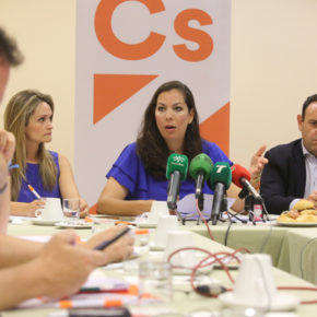 """María Martín (Cs) critica la política """"de mucho titular y poca ejecución"""" del Ayuntamiento de Huelva en tres años de mandato"""