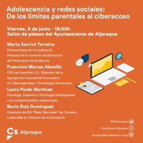 Mesa redonda sobre adolescencia y redes sociales en Aljaraque