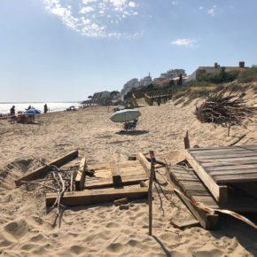 """Ciudadanos (Cs) exige al Ayuntamiento de Punta Umbría que acometa """"urgentes y necesarias reformas"""" en la playa ante el inicio de la temporada de verano"""