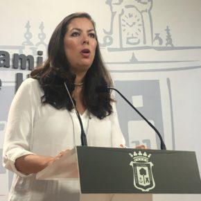 """María Martín(Cs): """"Se ha jugado con la venta del Recre durante dos años para no venderlo y eso no lo podemos permitir si nos importa el Decano"""""""