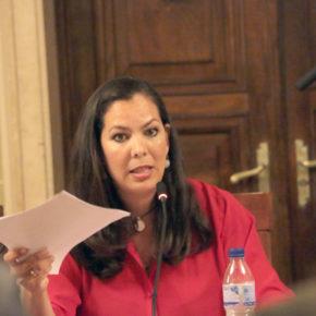"""María Martín (Cs): """"Hemos votado en contra a este  pliego porque no valora al Decano sin los avales"""""""