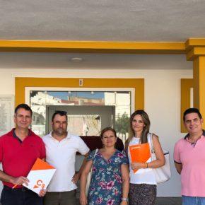 Ciudadanos (Cs) Aljaraque reclama al Ayuntamiento medidas urgentes de mantenimiento ante el deterioro de una de las locomotoras más antiguas de España