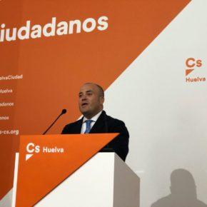 """Ciudadanos (Cs) critica los """"malos datos"""" de Huelva en materia de empleo"""