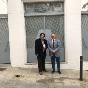 Ciudadanos (Cs) exige la retirada de los techos de amianto de los centros educativos de Cartaya y Ayamonte