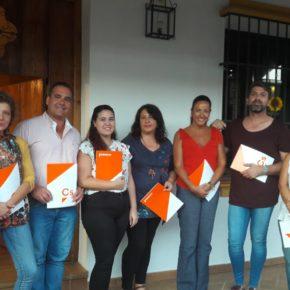 """Ciudadanos (Cs) constituye su nuevo grupo local en Gibraleón """"como alternativa real al actual bipartidismo"""""""