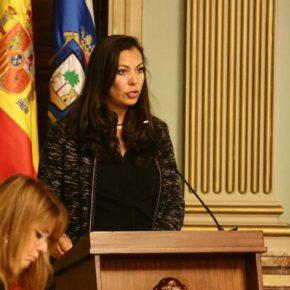 María Martín (Cs) advierte del uso partidista que el PSOE hace de las obras del Puerto de Huelva y de Edusi
