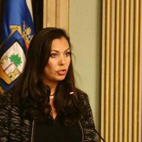 María Martín (Cs) critica el uso partidista que el Ayuntamiento hace de la convocatoria por las Infraestructuras