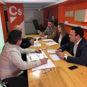 Carlos Hermoso (Cs) reafirma el compromiso de reconocer a los funcionarios de prisiones como agentes de la autoridad