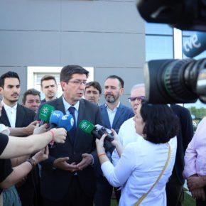 Juan Marín (Cs) propone bajada fiscal en los ayuntamientos y facilidades para la creación de empleo