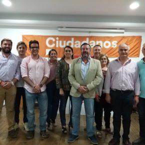 """Alfredo Martín (Cs) apuesta por """"regenerar el Ayuntamiento de Aracena después de muchos años del mismo gobierno"""""""