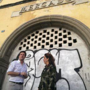 Cs propone un Museo Taurino en Huelva junto a la Plaza de Toros recuperando el edificio del antiguo Mercado de la zona