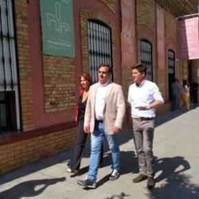 Néstor Santos (Cs) critica la falta de dotaciones en el barrio del Matadero que no tiene pista polideportiva ni parque infantil