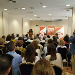 Rocío Ruiz (Cs) afirma que Néstor Santos llevará el sello de Ciudadanos a la Alcaldía de Huelva