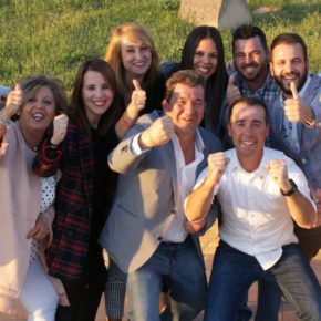 Ignacio Acebedo celebra los buenos resultados obtenidos en Niebla en las primeras elecciones a las que se presenta Cs