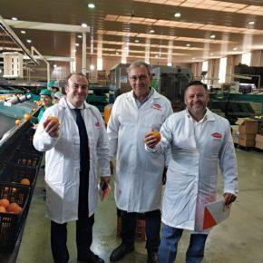 Juan Carlos Gómez (Cs) se compromete a fomentar el desarrollo de la agricultura en Lepe