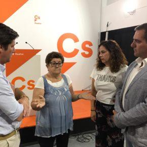 García de Longoria destaca el esfuerzo de la Junta por desbloquear el colegio de Pescadería y la reforma del IES La Rábida