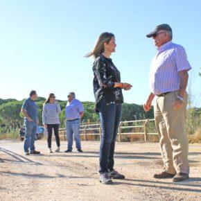 María Ponce (Cs) alerta de que las inundaciones en Isla Cristina y Lepe podrían volver a repetirse este otoño