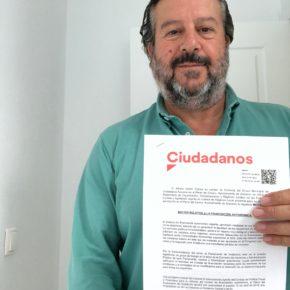Cs Aracena presenta una moción para exigir el pago de los 1.350 millones de la financiación autonómica