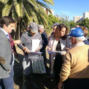 """García de Longoria: """"Los propietarios de los huertos del Parque Moret están abandonados a su suerte por el alcalde"""""""