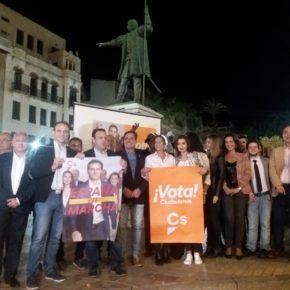 """Carlos Hermoso: """"La alternativa de Ciudadanos es la revolución que Huelva necesita"""""""