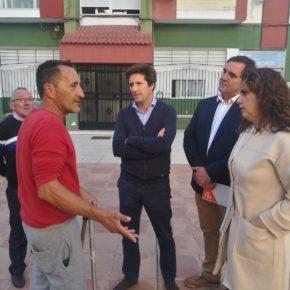 Ciudadanos exige inversiones para la rehabilitación urgente de la barriada Príncipe Juan Carlos de la capital