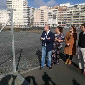 """Díaz: """"¿Cómo pretende el alcalde que se ejecute la Ciudad de la Justicia en unos terrenos sin urbanizar?"""""""