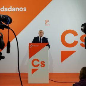 """Díaz: """"Ciudadanos quiere que el dinero que roben los corruptos vuelva a las arcas públicas"""""""