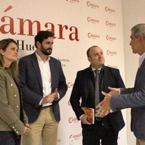 """Díaz: """"La Cámara de Comercio de Huelva debe tener un papel fundamental en la dinamización de la provincia"""""""