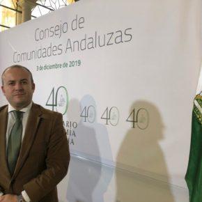 Julio Díaz, elegido vocal de la Comisión Permanente del Consejo de Comunidades Andaluzas