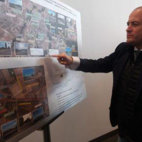"""Díaz confía en que """"el tercer carril proyectado por la Junta para la A483 acabe con la alta siniestralidad de esta carretera"""""""