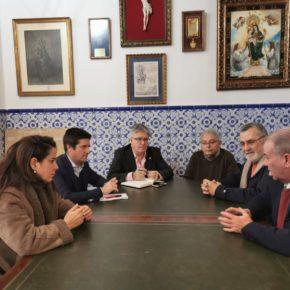 Ciudadanos traslada al Consejo de Hermandades y Cofradías su apoyo a la Semana Santa de Huelva