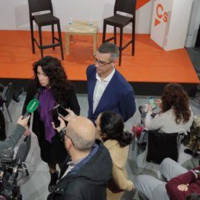 """Rocío Ruiz: """"Hace un año Ciudadanos cambiamos el futuro de Andalucía"""""""
