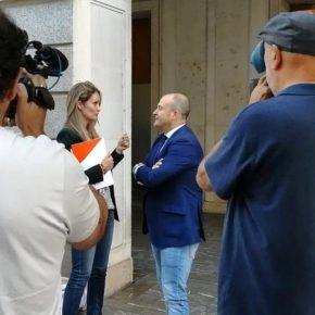 """Julio Díaz: """"Ciudadanos está fortaleciendo la cooperación de la Junta con los municipios de Huelva"""""""