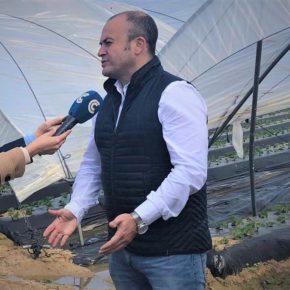 """Díaz: """"Ciudadanos respalda la tractorada que clama en Huelva por la supervivencia del campo andaluz"""""""