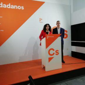 """Ruiz: """"Desde Ciudadanos somos sensibles a los que peor lo pasan en esta crisis por lo que desde Igualdad vamos a impulsar medidas de apoyo"""""""