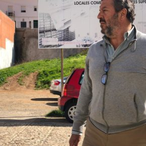 """Alfredo Martín: """"Las ayudas para la construcción de viviendas para alquiler con precio asequible en Aracena están garantizadas"""""""