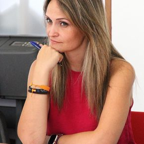 """María Ponce: """"Ocho municipios onubenses avanzarán en la gestión 'smart' pese al confinamiento gracias a la consejería de Ciudadanos"""""""